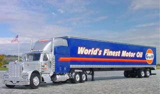 RFN   SPEC DCP   GULF OIL PETERBILT 379 Semi Truck