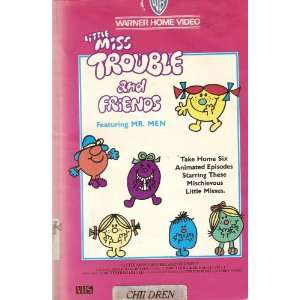Little Miss Trouble and Friends (Vhs Video) Animated