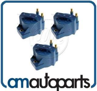 Chevy GMC Pontiac V6 2.8 3.3 3.1 3.8 Ignition Spark Coil Pack Set of 3