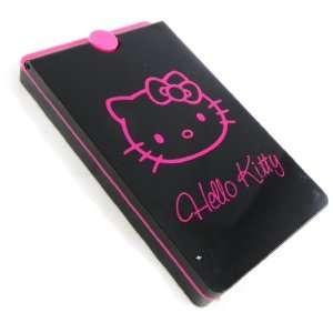 Makeup palette Hello Kitty black pink.