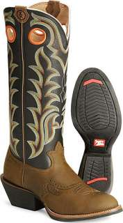 Tony Lama Mens Tan Crazy Horse 3R Cowboy Boot #RR1002