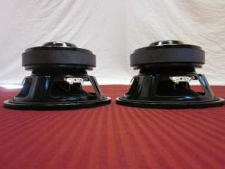Subwoofer Speakers.4 ohm.Home.Car Audio.240w.PAIR.Replacement.Bass