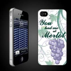 Wine Theme You Had Me at Merlot   iPhone Hard Case