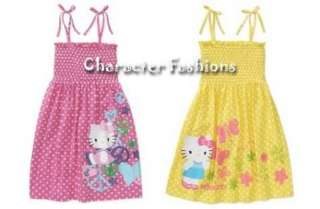 HELLO KITTY SUN DRESS Size 4 5 6 6X 7 8 10 12 14 16 Outfit Shirt Skirt