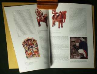 BOOK North Indian Folk Art terracotta sculpture painting patas India