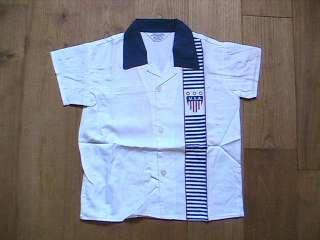TIMELESS 1950s BOY COTTON SHIRT   PATRIOTIC USA PRINT   BRAND NEW
