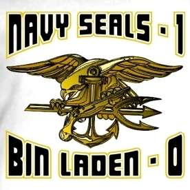 OSAMA BIN LADEN 0 NAVY SEALS 1 TEAM SIX DEAD T Shirt