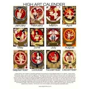 High Art Calendar