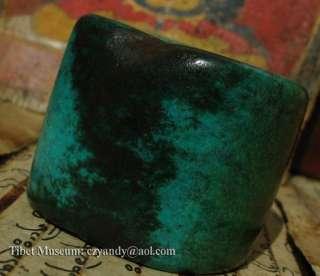 Wonderful Amazing Old Antique Tibetan Noble Turquoise Ring     Museum