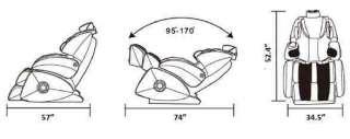 NEW Beige Osaki OS 7000 Super Deluxe Zero Gravity Massage Chair with