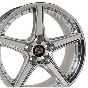 Saleen Style Wheel Fits Mustang (R)   Polished18x9