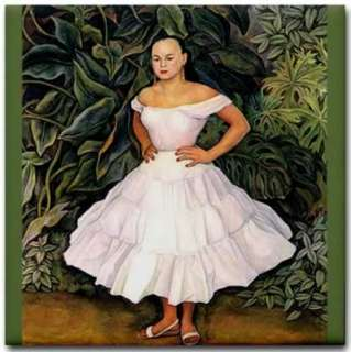 Diego Rivera Painting Reproduction   Portrait of Irene Phillips Olmedo