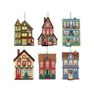 Home for the Holidays Ornaments Plastic Canvas Kit: Home