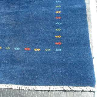 7ft x 10ft Gabbeh Hand Knotted Wool Rug  MR11268