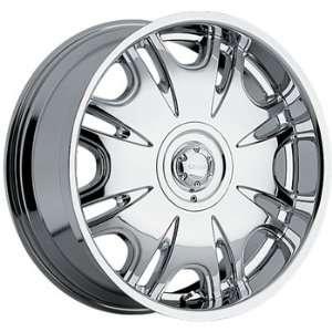 Akuza Tarizon 23x9.5 Chrome Wheel / Rim 5x5 & 5x135 with a 15mm Offset