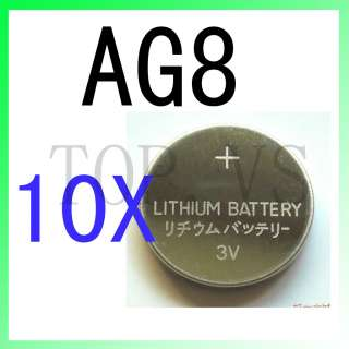10x Lithium Coin Cell Battery AG8 AG 8 1120 SR1120 LR1120 LR1120W 1121
