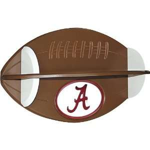 Fan Creations Alabama Crimson Tide Football Shelf