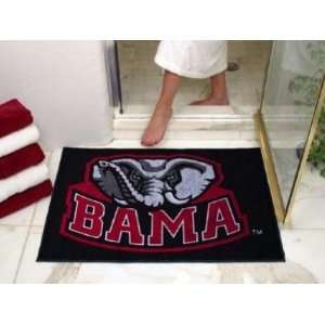 Alabama Crimson Tide Logo All Star Welcome/Bath Mat Rug 34X45: