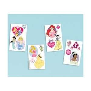 Favors 16/Pkg Disney Princess Tattoo; 6 Items/Order: Kitchen & Dining
