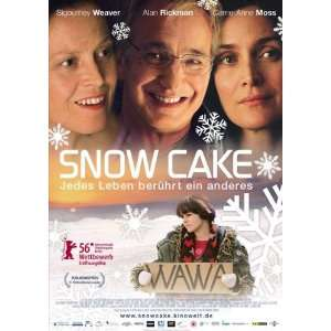 Snow Cake Movie Poster (27 x 40 Inches   69cm x 102cm