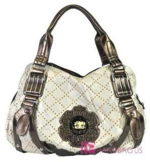 Oversized Betty Boop ZEN Hobo Handbag Purse SET Ivory