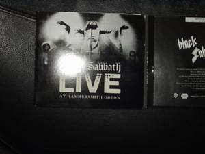 BLACK SABBATH LIVE HAMMERSMITH ODEON CD RHINO HANDMADE RARE PROMO COPY