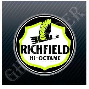 Richfield Hi Octane Fuel Pump Gas Gasoline Station Vintage