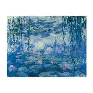 Paintings Water Lilies And Willow Branches Oil Painting Canvas Art