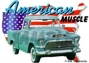 You are bidding on 1 1957 Green GMC Pickup Truck Custom Hot Rod
