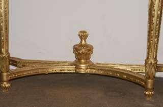 Italian Neo Classical Gilt Console Table Mirror Set