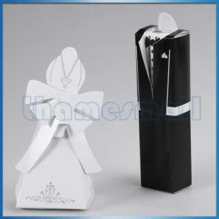 Gown Box Wedding Party Gift Jewelry Candy Favor Boxes Bags