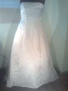 BEAUTIFUL DAVIDS BRIDAL WEDDING DRESS GOWN SZ 18 STUNNINGL@@K