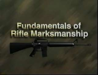 USMC Marine Corps Marksmanship training films DVD + M4V files + Field
