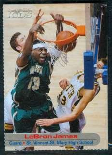 2003 SI LeBron James Sports Illustrated WCG 10 RARE★