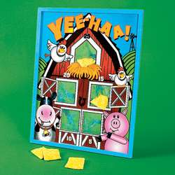 ANIMAL BEAN BAG TOSS PARTY GAME/Zoo/Birthday Supply/Activity