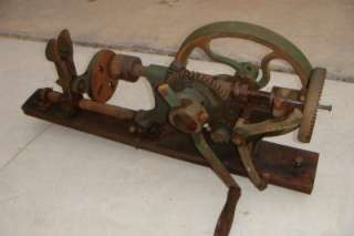 antique watchmaker jeweler lathe