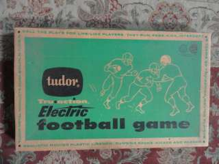 Tudor tru action model 500 electric football game