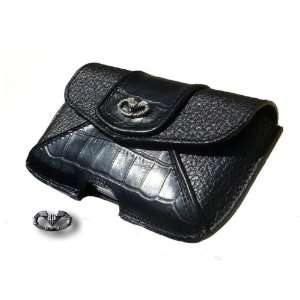 VOLK Genuine Leather Case with Pure Silver VOLK Logo