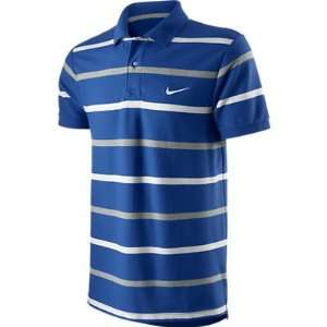 NIKE CLASSIC PIQUE POLO STRIPED (MENS) Sports & Outdoors