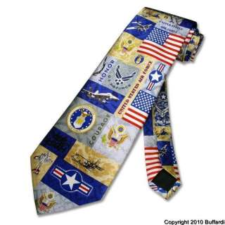 NEW USA ARMY NECKTIE AMERICAN AIR FORCE UNITED STATES