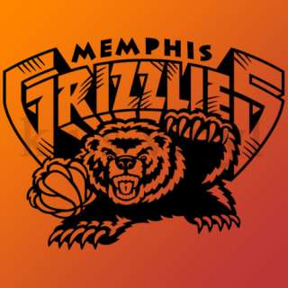 Memphis Grizzlies NBA vinyl sticker wall car decal