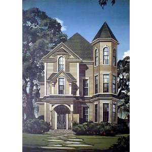 Gothic House by David Mann: Kitchen & Dining