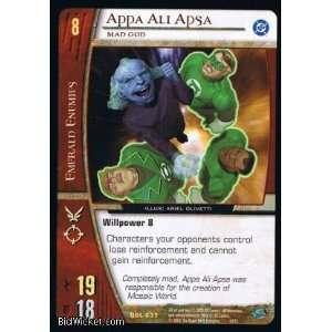 Appa Ali Apsa, Mad God (Vs System   Green Lantern Corps   Appa