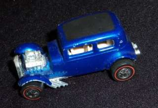 Hot Wheels Redline Blue Classic 32 Ford Vicky Diecast Toy Truck