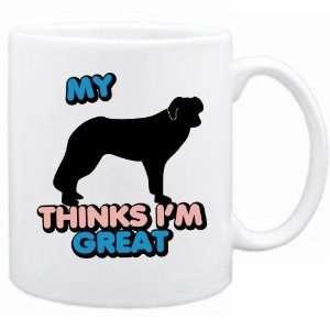 New  My English Shepherd Dog Thinks I Am Great  Mug Dog