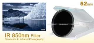 52mm 52 mm Infrared Infra Red IR Filter 850nm 850 F4I