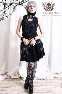 Gothic Lolita Visual Kei Punk EGL LARP Choker Collier
