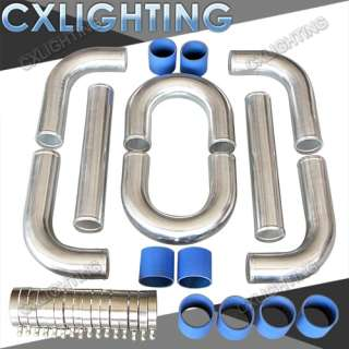UNIVERSAL TURBO EXHAUST INTERCOOLER PIPING+U PIPE