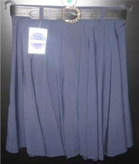 Flare Skirt School Uniform Mini Grey green black Navy