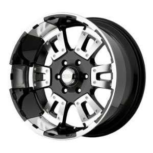 Diamo DI017 18x10 Black Wheel / Rim 6x135 with a  12mm Offset and a 87